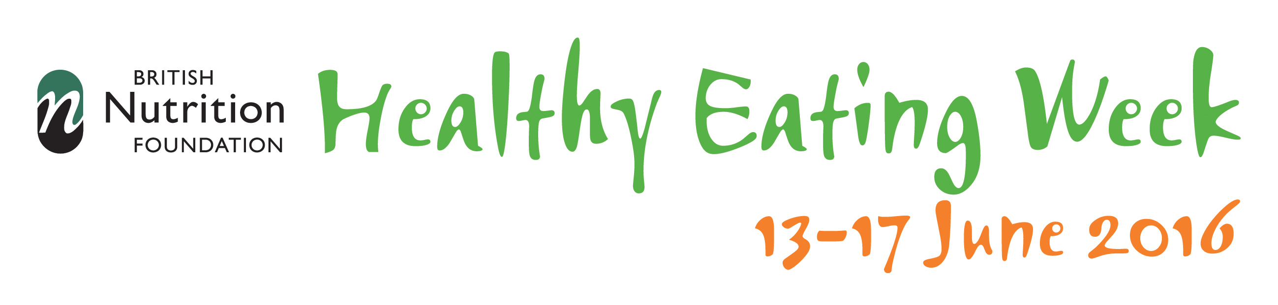 Healthy Eating Week Logo Welsh